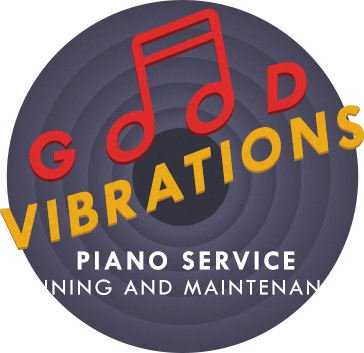Good Vibrations Piano Service logo